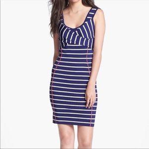 Jessica Simpson Striped Bodycon Dress